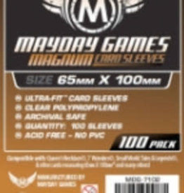 Mayday Games 7102 Sleeve «magnum copper» 65mm X 100mm / 100 (Commande Spéciale)