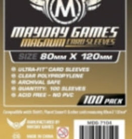 Mayday Games Sleeves - MDG-7104 «Magnum Gold» 80mm X 120mm (Commande Spéciale) / 100