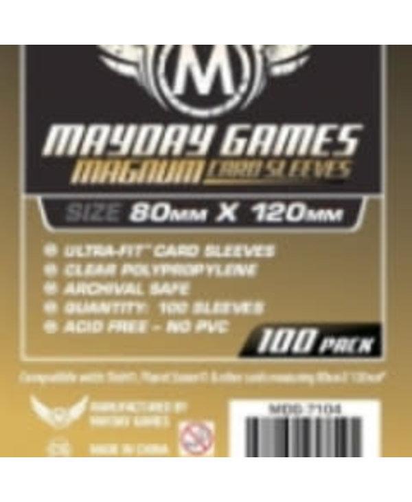 Sleeves - MDG-7104 «Magnum Gold» 80mm X 120mm (Commande Spéciale) / 100