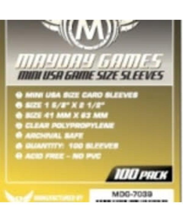Sleeves - MDG-7039 «Mini-USA» 41mm X 63mm / 100 (Commande Spéciale)