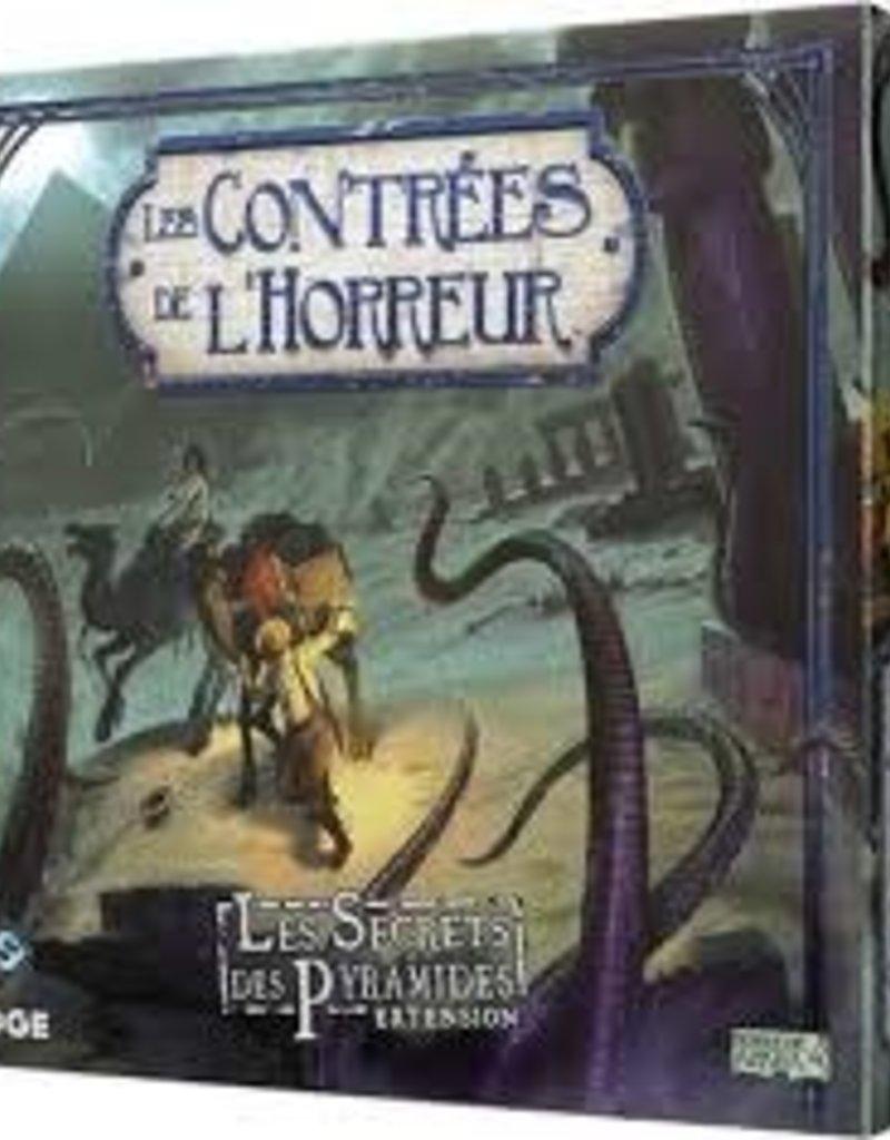 Fantasy Flight Games Contrée de L'Horreur: Ext. Le Secrets des Pyramides (FR) (commande spéciale)