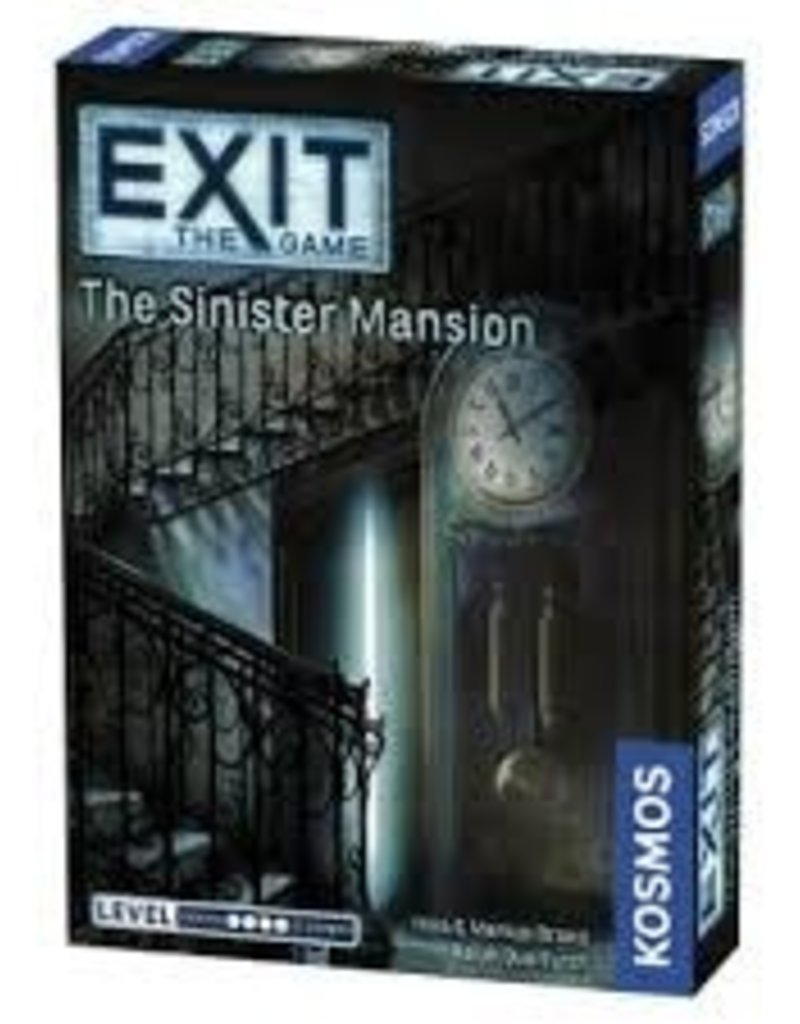 Thames & Kosmos Exit the Game - The Sinister Mansion (EN) (commande spéciale)