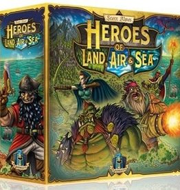 Gamelyn Games Heroes of Land, Air & Sea (EN) (commande spéciale)
