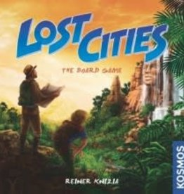 Thames & Kosmos Lost Cities: The Board Game (EN) (commande spéciale)