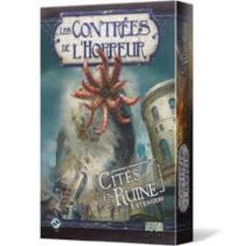 Fantasy Flight Games Contrées de l'Horreur: Ext. Cité en Ruine (FR) (commande spéciale)