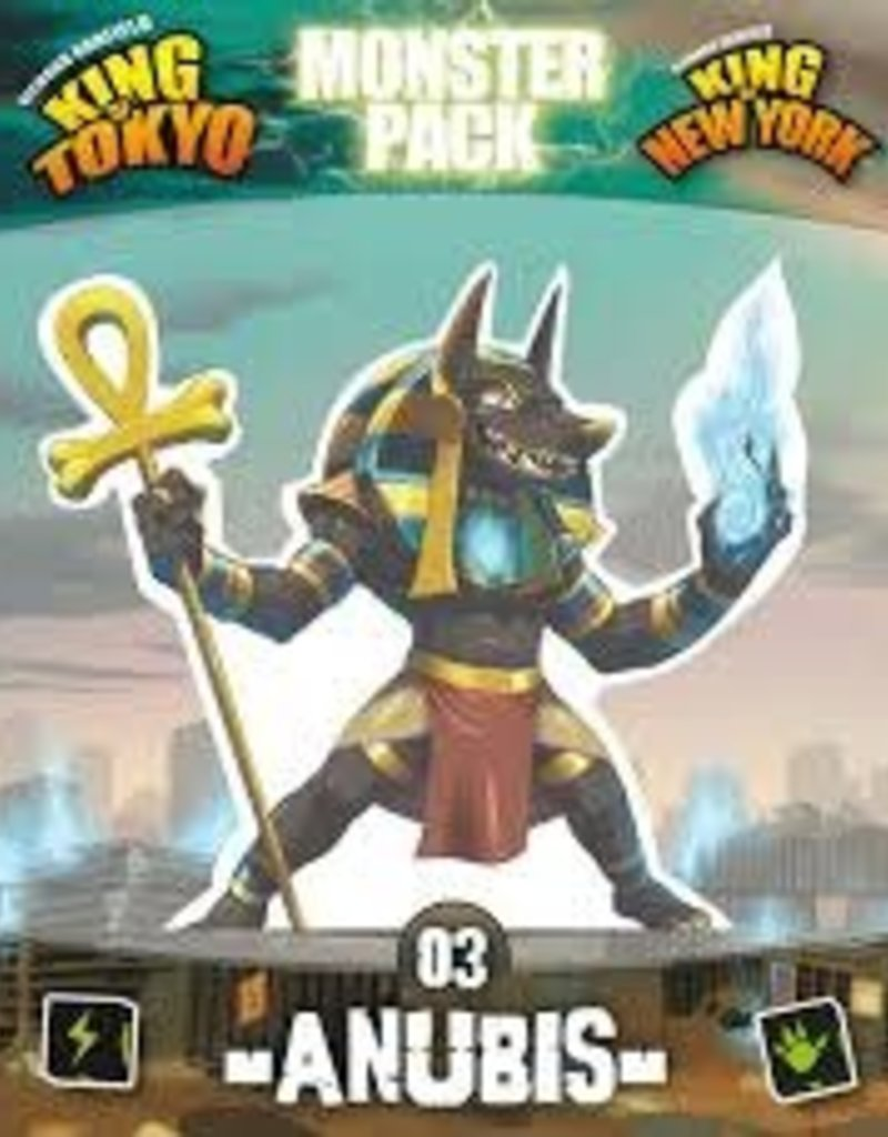 Iello King of Tokyo / New York: Monster Pack 3: Ext. Anubis (FR)