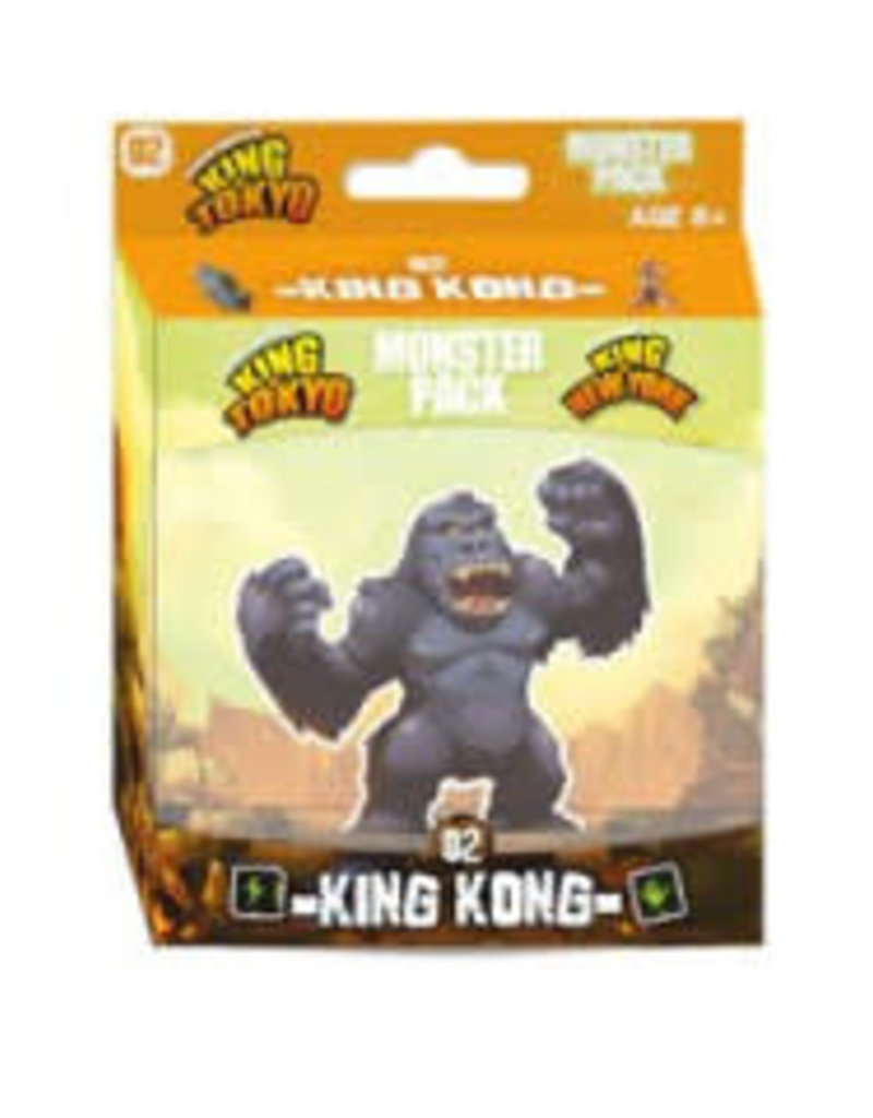 Iello King of Tokyo / New York: Monster Pack 2: Ext. King Kong (FR)