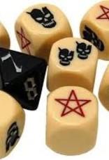White Wizard Games Sorcerer: Ext. Large Dice Set (commande spéciale)