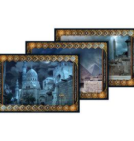 White Wizard Games Sorcerer: Ext. Egyptian Battlefield Boards (EN) (commande spéciale)