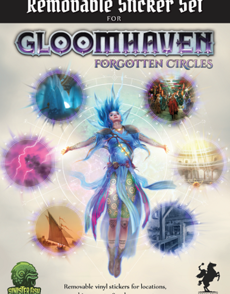 Sinister Fish Games Gloomhaven: Ext. Forgotten Circles: Removable Sticker Set (EN) (commande spéciale)