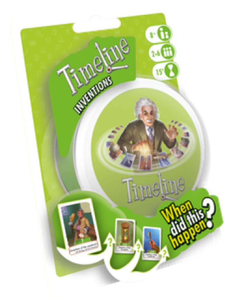Asmodee Timeline: Inventions (Blister) (FR)