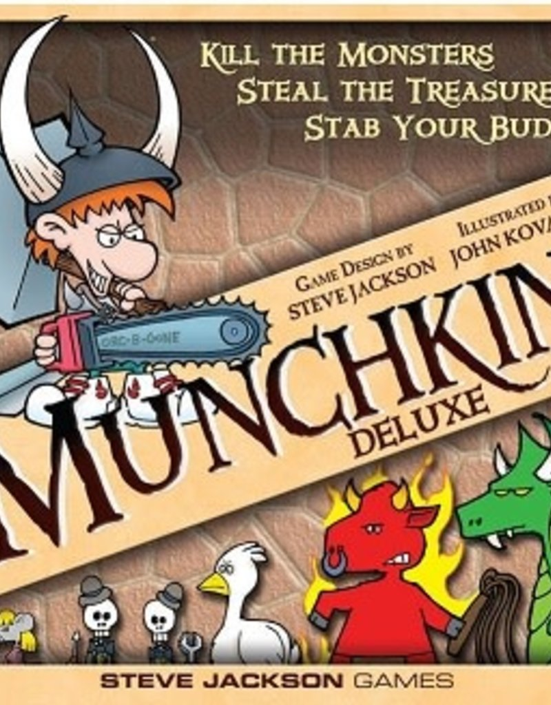 Steve Jackson Games Munchkin Deluxe (EN) (commande  spéciale)