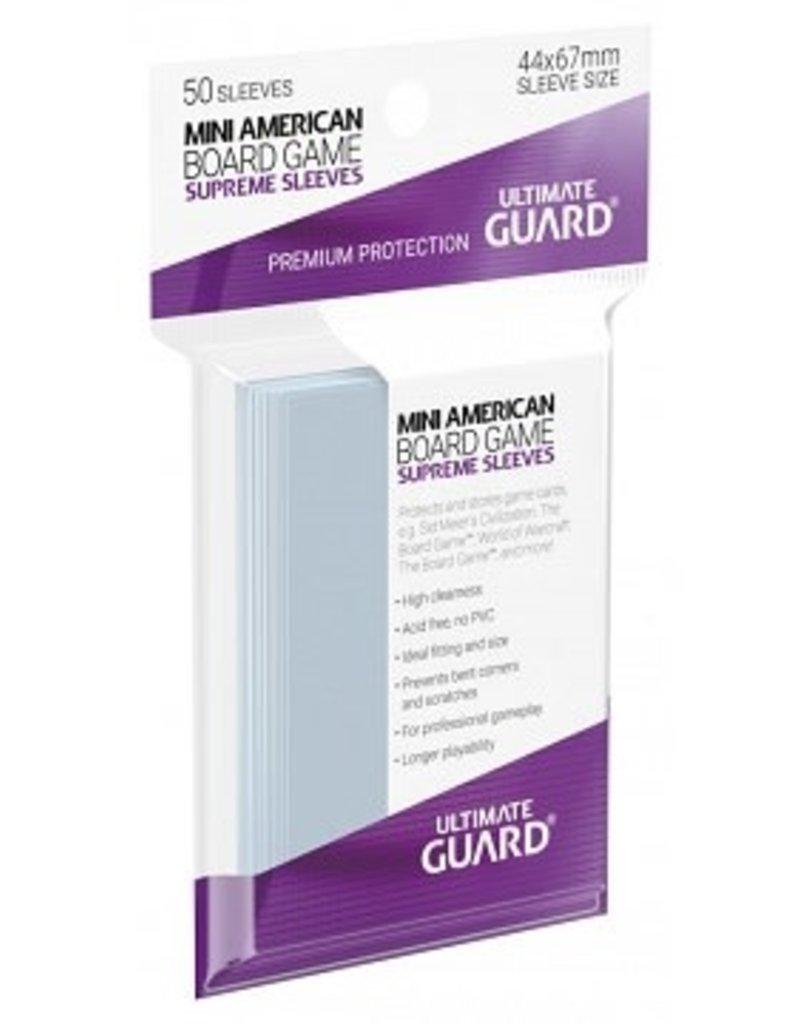 Ultimate Guard 10102 Ultimate Guard «Mini American» 44mm X 67mm Supreme / 50 Sleeves