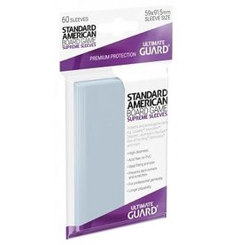 Ultimate Guard 10101  Ultimate Guard «Standard American» 59mm X 91.5mm Supreme / 60 Sleeves