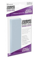 Ultimate Guard 10107  Ultimate Guard «Standard European» 62mm X 94mm Supreme / 50 Sleeves