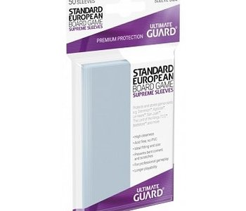 10107  Ultimate Guard «Standard European» 62mm X 94mm Supreme / 50 Sleeves