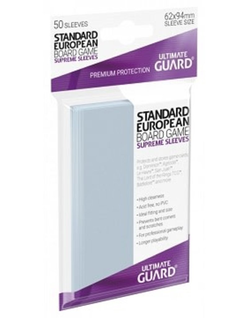 Ultimate Guard 10107 Sleeve «Standard European» 62mm X 94mm Supreme / 50