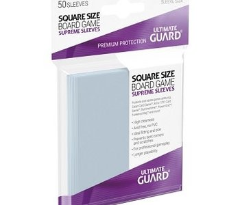 10113  Ultimate Guard «Square» 73mm X 73mm Supreme / 50 Sleeves