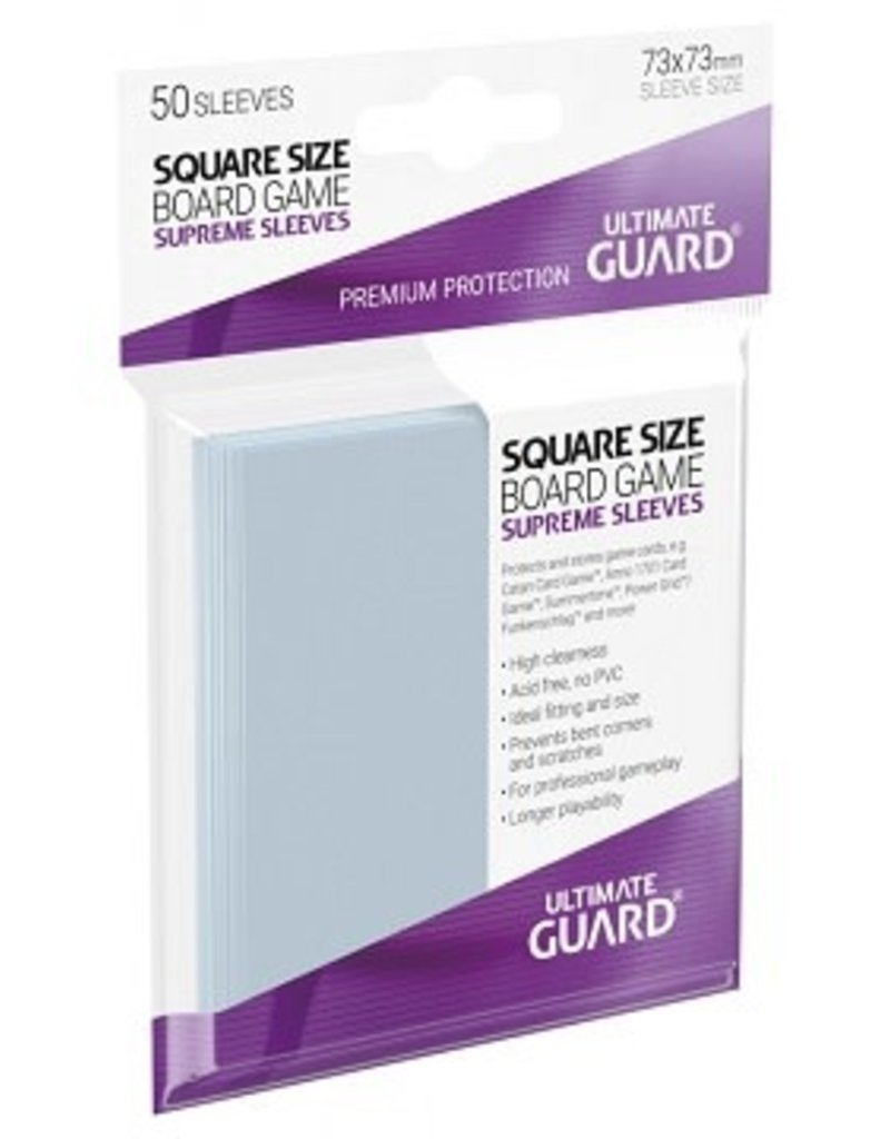 Ultimate Guard 10113 Sleeve «Square» 73mm X 73mm Supreme / 50