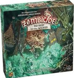 Edge Entertainment Zombicide: Black Plague: Ext. No Rest For The Wicked (FR)