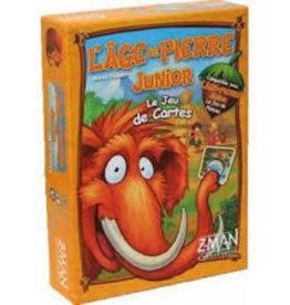 Z-Man Games, Inc. L'Âge de Pierre Junior: Le Jeu de Carte (FR) (commande spéciale)