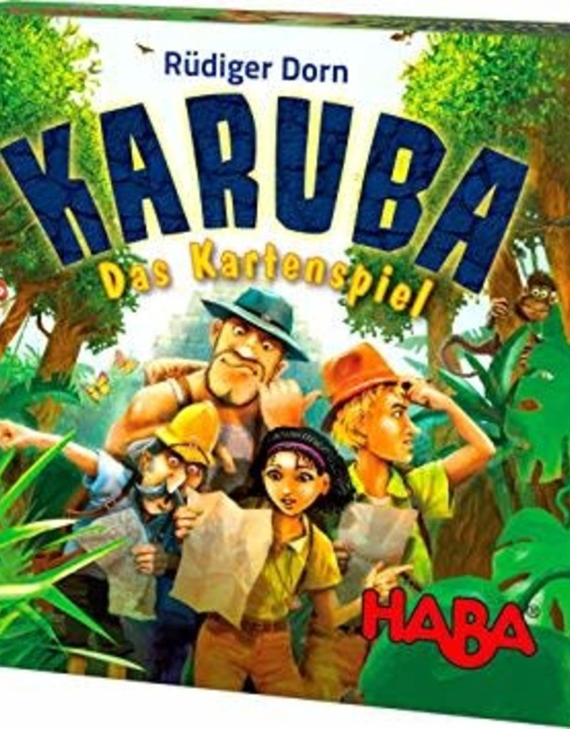 Haba Karuba: The Card Game (ML) (commande spéciale)