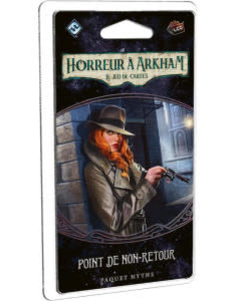 Fantasy Flight Games Horreur A Arkham JCE : Ext. Point De Non-Retour (FR) (commande spéciale)