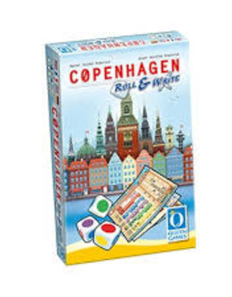 Queen Games Précommande: Copenhagen: Roll & Write (EN)