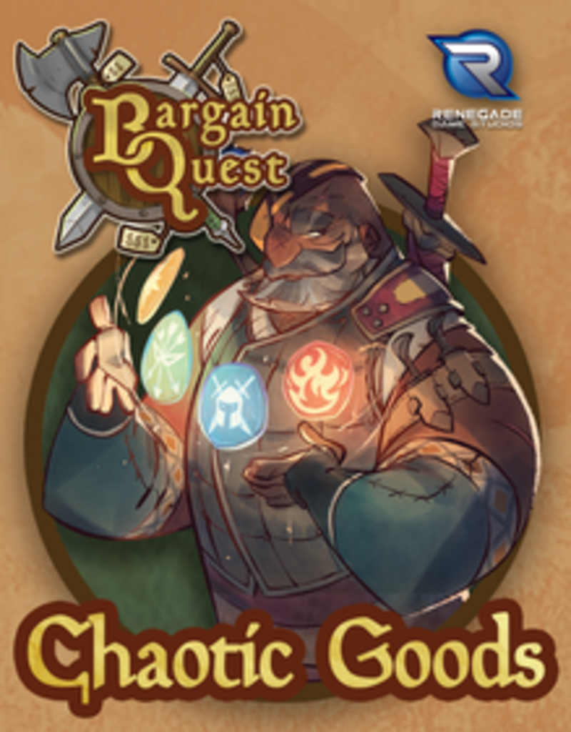 Renegade Game Studios Bargain Quest: Ext. Chaotic Goods (EN)