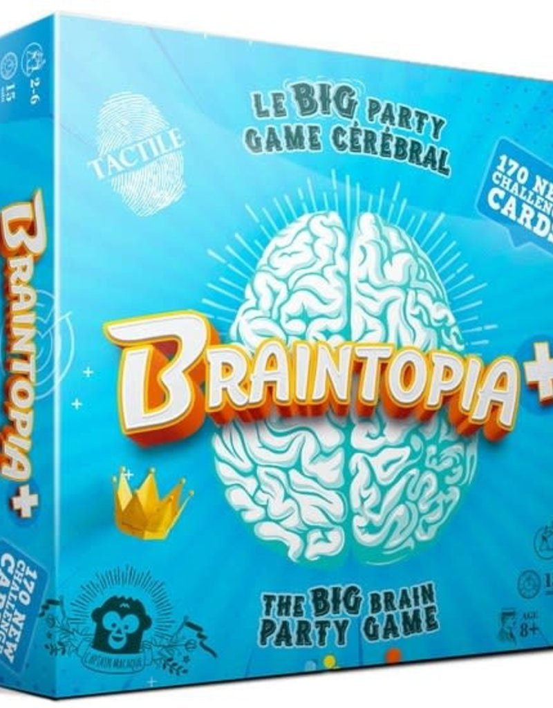Captain Macaque Braintopia + (ML)