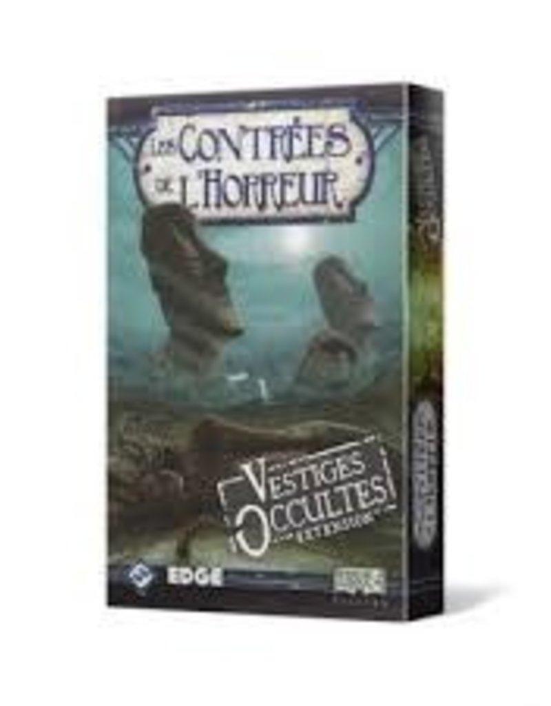 Fantasy Flight Games Contrée de L'Horreur: Ext. Vestiges Occultes (FR) (Commande Spéciale)