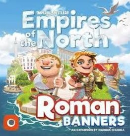 Portal Games Imperial Settlers: Empires Of The North: Ext. Roman Banners (EN)