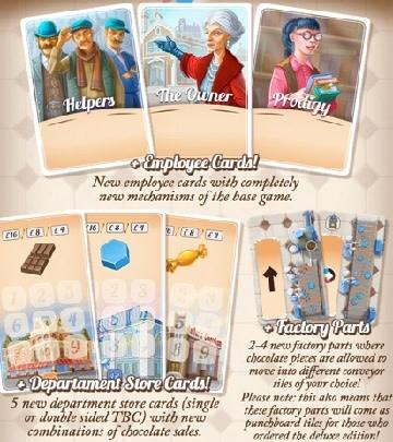 Chocolate Factory: Ext. Master Chocolatier Mini Pack (EN)