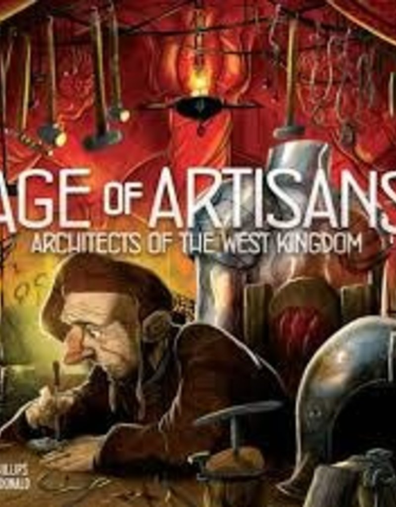 Renegade Game Studios Architects Of The West Kingdom: Ext. Age Of Artisans (EN)