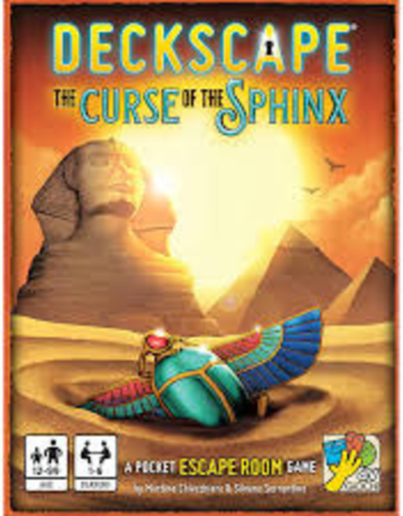 Super Meeple Deckscape 6 : La Malédiction Du Sphinx (FR)