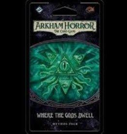 Fantasy Flight Games Arkham Horror: The Card Game: Ext. Where The Gods Dwell (EN)