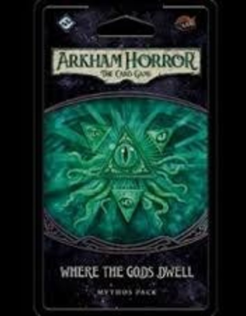 Fantasy Flight Games Arkham Horror: The Card Game: Ext. Where The Gods Dwell (EN)