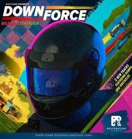 Restoration Games Précommande: Downforce: Ext. Course Sauvage (FR)
