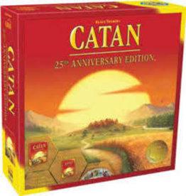 Catan Studio Précommande: Catan: 25th Anniversary Edition (EN) Q4 2020: Octobre à Décembre 2020