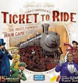 Days of Wonder Ticket To Ride: 15th Anniversary Edition (EN)