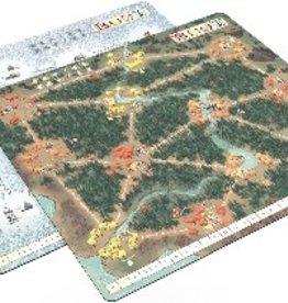 Leder Games Précommande: Root: Playmat Fall/Winter (EN)