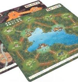 Leder Games Précommande: Root: Playmat Mountain/Lake (EN)