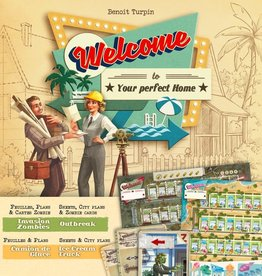 Dude Games Welcome To: Your Perfect Home: Ext. Invasion Zombies Et Camion De Glaces (FR)
