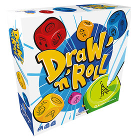 Blue Orange Games Précommande: Draw And Roll (ML)