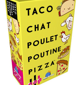 Blue Orange Games Précommande: Taco, Chat, Poulet, Poutine, Pizza (ML)