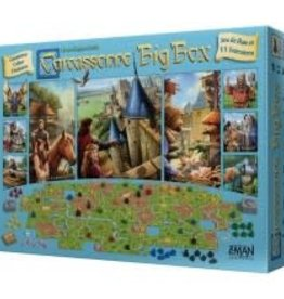 Z-Man Games, Inc. Carcassonne: Big Box 2017 (FR)