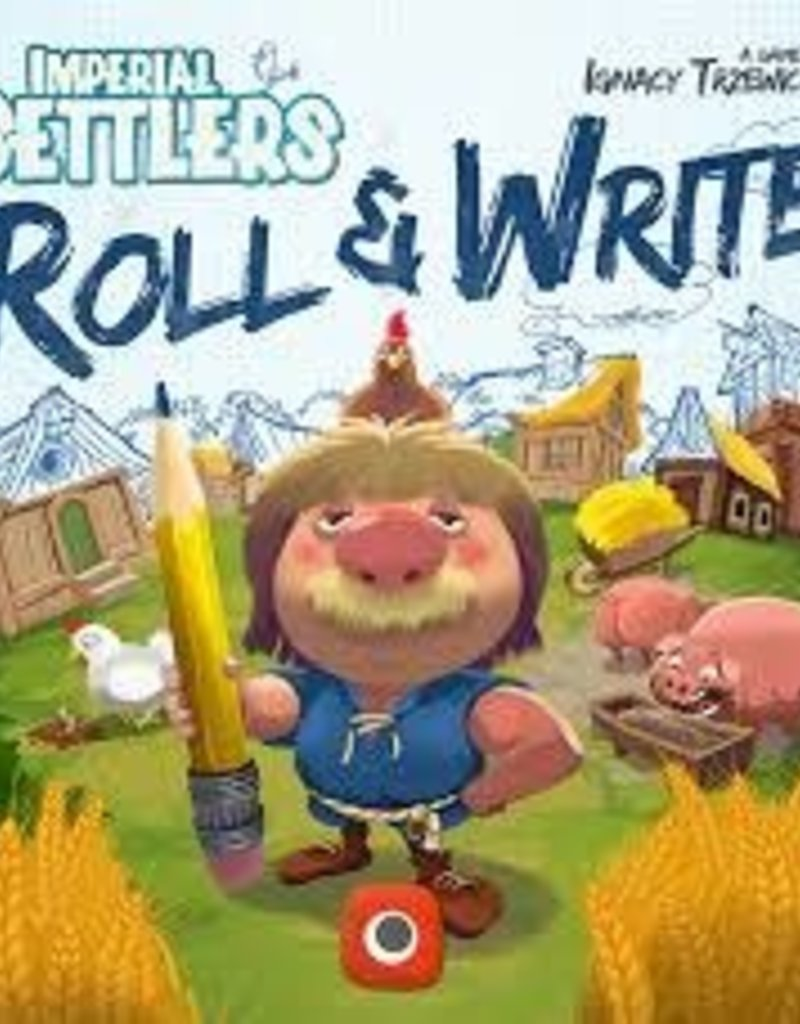 Iello Imperial Settlers: Roll And Write (FR)