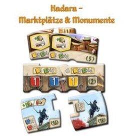 Z-Man Games, Inc. Hadara: Mini Ext. Marketplaces & Monuments (EN)