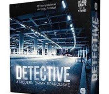 Detective: A Modern Crime Boardgame (EN) (Commande Spéciale)