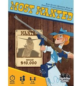 North Star Games Most Wanted (EN) (Commande Spéciale)